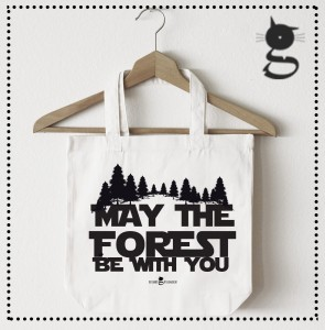 Las - Leśnik - May the forest be with you - Torba naturalna